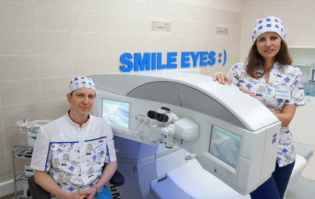 Лучшие специалисты по лазерной коррекции зрения ReLEx SMILE СМАЙЛ