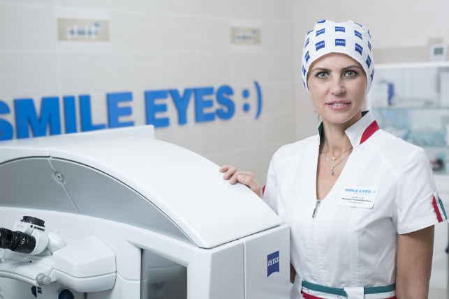 Шилова Татьяна Юрьевна лучший офтальмолог России по лазерной коррекции зрения смайл